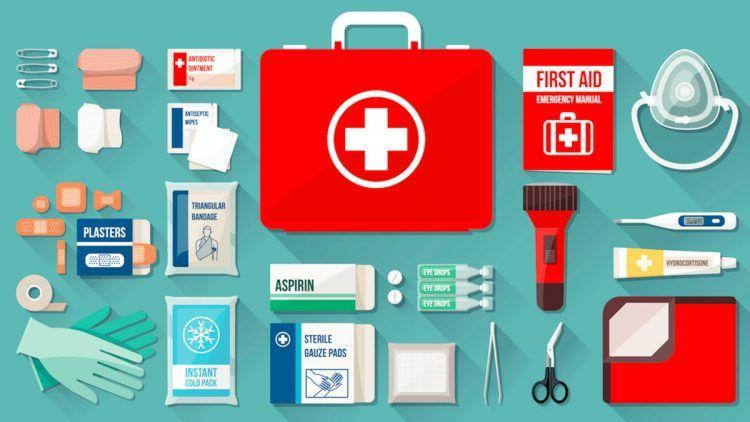 Kit primo soccorso aziendale a norma D.M 388/2003